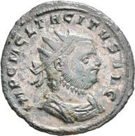 Tacitus (275 - 276): Antoninian. Büste Nach Rechts, IMP C M CL TACITVS AVG / Handschlag Mit Concordi - 5. The Military Crisis (235 AD To 284 AD)