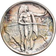 Vereinigte Staaten Von Amerika: ½ Dollar 1926 S, Oregon Trail Memorial, KM# 159, Leichte Patina, Fei - Sin Clasificación
