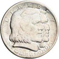 Vereinigte Staaten Von Amerika: ½ Dollar 1936, Long Island Tercentenary, KM# 182, Kleine Kratzer, Fa - Sin Clasificación