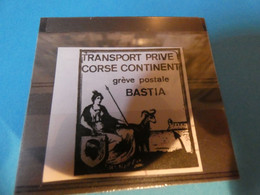 TIMBRE DE GREVE   N53   CORSE  CONTINENT - Strike Stamps