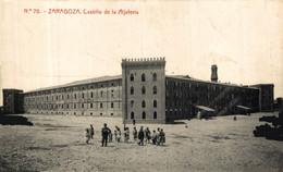 ZARAGOZA CASTILLO DE ALJAFERÍA. ZARAGOZA ARAGON ESPAÑA ESPAGNE - Zaragoza