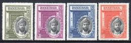 Zanzibar - 1936 Silver Jubilee Of Sultan Set (*) # SG 323-326 - Zanzibar (...-1963)