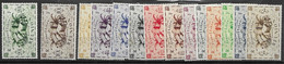 Reunion Nsc Mnh Serie Complete 9,50 Euros - Unused Stamps
