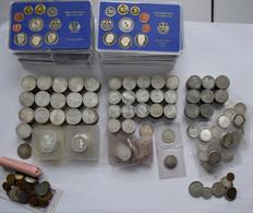 Bundesrepublik Deutschland 1948-2001: Große Lot 5 DM Und 10 DM Gedenkmünzen, Dabei Auch Ein Paar KMS - Unclassified