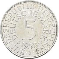 Bundesrepublik Deutschland 1948-2001: 69 + 8 X 5 DM Kursmünzen Silberadler, Fast Alle Jahrgänge Und - Unclassified