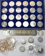 Bundesrepublik Deutschland 1948-2001: Kleines Lot Mit 5 DM In 10 DM Gedenkmünzen, über 700 DM Nomina - Unclassified