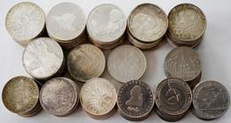 Bundesrepublik Deutschland 1948-2001: Sammlung Diverser 5 Und 10 DM Gedenkmünzen Der BRD. Dabei Auch - Unclassified