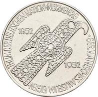 Bundesrepublik Deutschland 1948-2001: Die Ersten Fünf. Von 5 DM Germanisches Museum (J. 388), über S - Unclassified