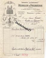 """13 0009 MARSEILLE BOUCHES-du-RHÔN1913 SAVONNERIE """"LA CATHÉDRALE"""" MERKLEN & POUPARDIN à M. Edmond LOURSET - 1900 – 1949"""