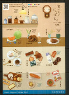 La Gastronomie Japonaise (special Dishes) Japanese Cuisine . Année / Year 2020  Neufs **  / Mint ** - Levensmiddelen