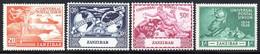 Zanzibar - 1949 75th Anniversary Of UPU Set (*) # SG 335-338 - Zanzibar (...-1963)