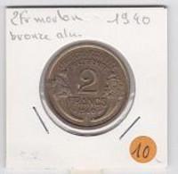 2frs Morlon  1940 - H. 1 Franco