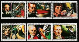 COMORES - N°315/8+PA ** (1979) Espace - Comoros