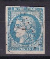 D102 / LOT BORDEAUX N° 46B OBL COTE 25€ - 1870 Emissione Di Bordeaux