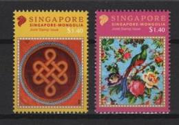 Singapore (2020)  - Set -   /  Joint Issue With Mongolia - National Relationship - Emissioni Congiunte