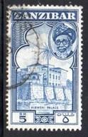 Zanzibar - 1957 5s (o) # SG 370 - Zanzibar (...-1963)