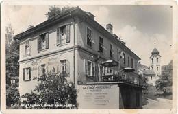CPSM - Café-estaurant GRAZ-MARIAGRÜN - Gasthof-KIRCHENWIRT - Graz