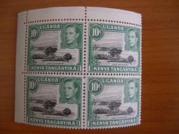 Kenya Ouganda  N° 76 Bloc De 4 Neuf** - Kenya & Uganda