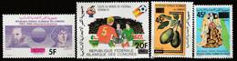 COMORES - N°353/6 ** (1981) T.P Surchargés - Comoros