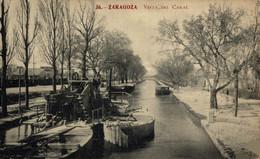 ZARAGOZA VISTA DEL CANAL        ZARAGOZA ARAGON ESPAÑA ESPAGNE - Zaragoza