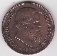 Brésil 40 Reis 1879 Pedro II KM# 479 - Brazil