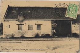 CP Dept 80 COURCELLES SUR MOYENCOURT Maison Du Brocanteur CPSM Publicitaire Letocart Antiquites Brocante - Other Municipalities