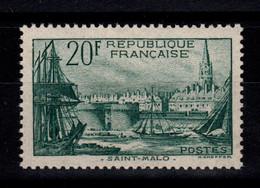 Signé Calvès - YV 394 N** Luxe , Saint Malo Cote 100 Euros - Ongebruikt