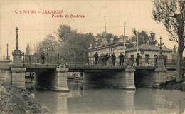ZARAGOZA PUENTE DE AMERICA   ZARAGOZA ARAGON ESPAÑA ESPAGNE - Zaragoza