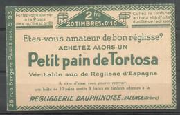 PROMOTION Carnet Pasteur 170C1 Neuf ** Luxe Cote 70 Euros - Usados Corriente
