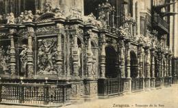 ZARAGOZA TRASCORO DE LA SEO   ZARAGOZA ARAGON ESPAÑA ESPAGNE - Zaragoza