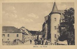 Luxembourg - Luxemburg - BISSEN - Le Pont - Jules Jaeger , Commercant Bissen - Edm. Hansen , Mersch - Altri