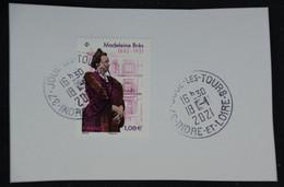 France 2021 Madeleine Brès Oblitéré - Used Stamps