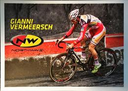Postcard - Gianni Vermeersch - Northwave - 2014/2015 - Wielrennen