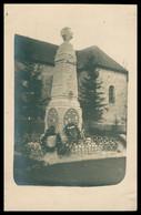 Cp Photo - Monument Aux Morts - Cimetière - Lieu à Identifier - Stèle - Pierre Tombale - 1914 - 1920 - Fotografie