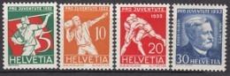 SCHWEIZ  262-265,  Postfrisch **, Pro Juventute 1932, Volkssport - Neufs