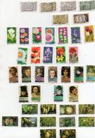 Lot De 9 Séries ( 109 Timbres) Année 2012 (voir Description) - Autoadesivi