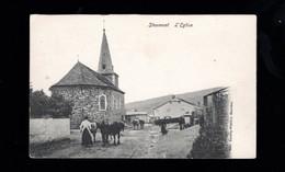 730-STOUMONT-l'eglise-ardennaise Fermière - Stoumont