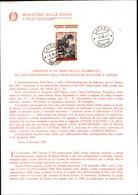 30853) ITALIA-BOLLETTINO ILLUSTRATIVO-25º Anniversario Della Prima Reazione Nucleare A Catena - 2 Dicembre 1967-USATO - 1961-70: Oblitérés
