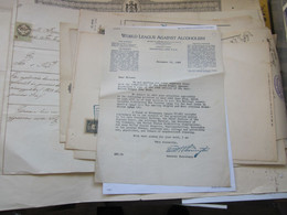 World League Against Alcoholism Westerville Ohia U.S.A. 1923 - Estados Unidos
