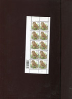 Belgie Buzin Vogels Birds Nr 3956 0.10€ MATTE GOM RR MNH Plaatnummer 1 - 1985-.. Pájaros (Buzin)
