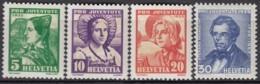 SCHWEIZ  287-290,  Postfrisch **, Pro Juventute 1935, Trachten - Neufs