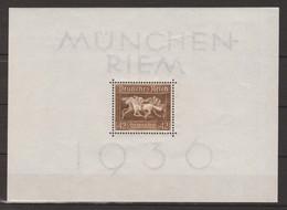 """Deutsches Reich 1936 """"Braunes Band"""", Block 4 (Mi.Nr. 621) - Blocks & Sheetlets"""