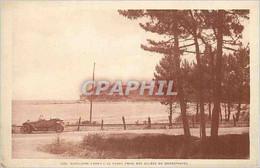 CPA Cavalaire (Var) La Plage Prise Des Allees Du Grand Hotel - Cavalaire-sur-Mer