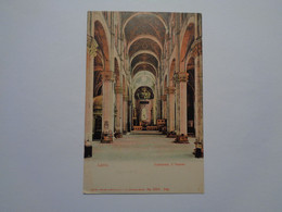 Lucca. - Cattedrale, L'Interno. - Lucca