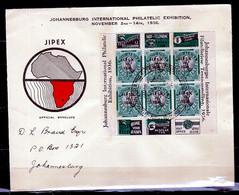 FDC Johannesburg International Philatelic Exhibition Naar Johannesburg - Storia Postale