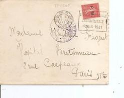 France ( Lettre De 1931 De Toulon Vers Paris à Voir) - Franchise Militaire (timbres)