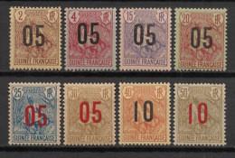 Guinée - 1912 - N°Yv. 55 à 62 - Série Complète - Neuf Luxe ** / MNH / Postfrisch - Nuovi