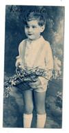 Bonne Année --carte Mignonnette --1945-- Portrait D'enfant ........... à Saisir - Neujahr