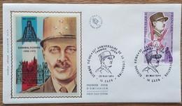FDC 1974 - YT N°1796 - GENERAL KOENIG / LIBERATION - CAEN - 1970-1979