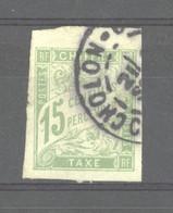 0co  560 -  Colonies Générales  -  Taxes  :  Yv  20  (o)  Obl.  CHOLON - Postage Due
